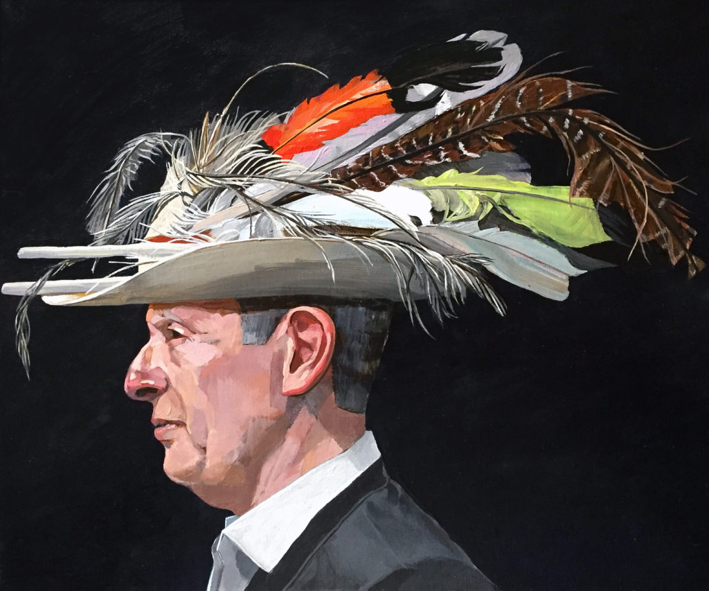 Justice Anthony North with Hat